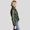 Benita Black Biker Leather Jacket 2