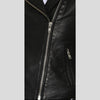 Harmoni Black Studded Leather Jacket 2