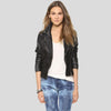 kendra black motorcycle leather jacket 4
