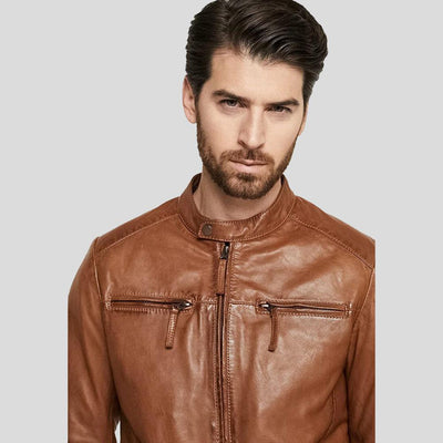 biker leather jacket alex brown 2