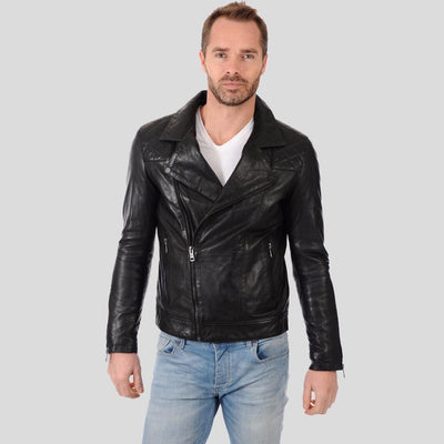 biker leather jacket black brantley 1