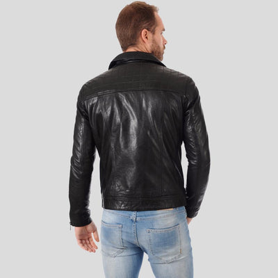 biker leather jacket black brantley 3