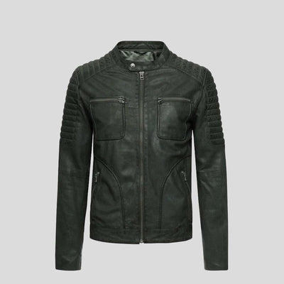 biker leather jacket emiliano black 4