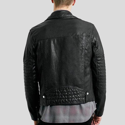 biker leather jacket kaiden black 2