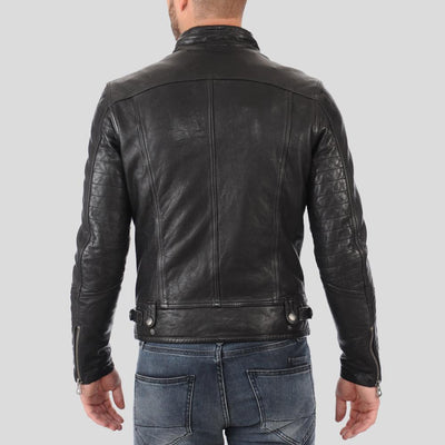 biker leather jacket rhett black 3