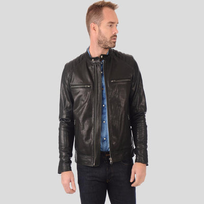 black motorcycle jacket antonio 1