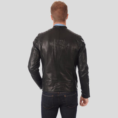 black motorcycle jacket antonio 3