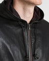easton chet black hooded leather jacket 4