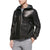 mens israel black hooded leather jacket 1