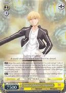 "FS/S36-E008S ""Gate of Babylon"" Gilgamesh (Foil) - Fate/Stay Night Unlimited Blade Works Vol.2 English Weiss Schwarz Trading Card Game"