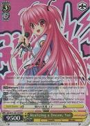 AB/W31-E011R Realizing a Dream, Yui (Foil) - Angel Beats! Re:Edit English Weiss Schwarz Trading Card Game
