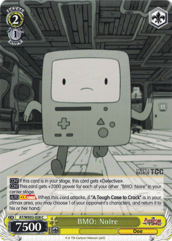 AT/WX02-028 BMO: Noire - Adventure Time English Weiss Schwarz Trading Card Game
