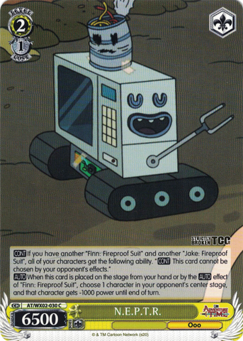 AT/WX02-030 N.E.P.T.R. - Adventure Time English Weiss Schwarz Trading Card Game