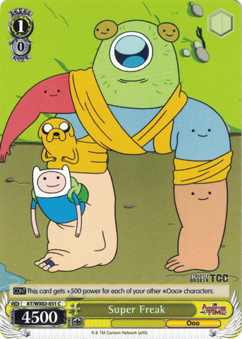 AT/WX02-031 Super Freak - Adventure Time English Weiss Schwarz Trading Card Game