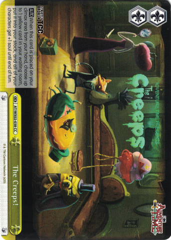 AT/WX02-038 The Creeps! - Adventure Time English Weiss Schwarz Trading Card Game