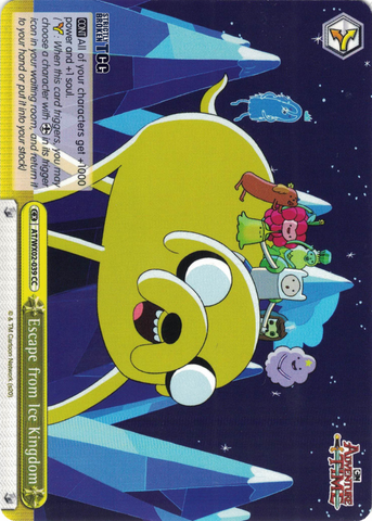 AT/WX02-039 Escape from Ice Kingdom - Adventure Time English Weiss Schwarz Trading Card Game