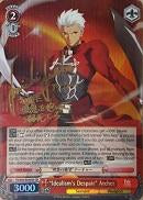 "FS/S36-E049SP ""Idealism's Despair"" Archer (Foil) - Fate/Stay Night Unlimited Blade Works Vol.2 English Weiss Schwarz Trading Card Game"