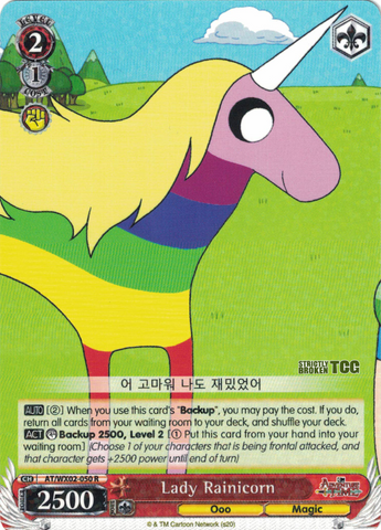 AT/WX02-050 Lady Rainicorn - Adventure Time English Weiss Schwarz Trading Card Game