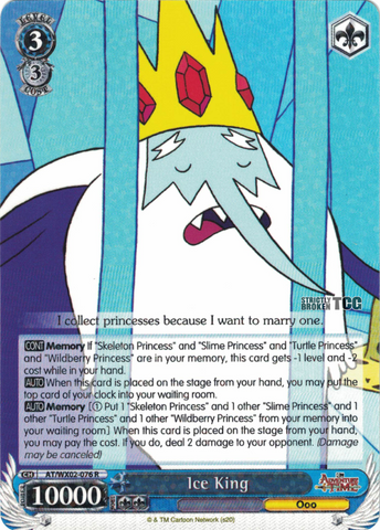 AT/WX02-076 Ice King - Adventure Time English Weiss Schwarz Trading Card Game