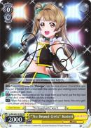 "LL/EN-W01-012X ""No Brand Girls"" Kotori (Foil) - Love Live! DX English Weiss Schwarz Trading Card Game"