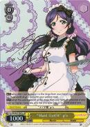 "LL/EN-W02-E001gμR ""Maid Outfit"" μ's (Foil) - Love Live! DX Vol.2 English Weiss Schwarz Trading Card Game"