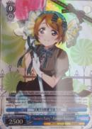"LL/EN-W02-E123S ""Sweets Fairy"" Hanayo Koizumi (Foil) - Love Live! DX Vol.2 English Weiss Schwarz Trading Card Game"
