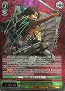 "AOT/S50-E026SP ""To Seize Freedom"" Hange (Foil)"