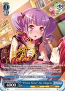 "BD/W54-E074SPa ""Private Nurse"" Ako Udagawa (Foil) - Bang Dream Girls Band Party! Vol.1 English Weiss Schwarz Trading Card Game"