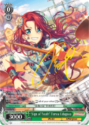 "BD/W63-E033SPMa ""Sign of Youth"" Tomoe Udagawa (Foil) - Bang Dream Girls Band Party! Vol.2 English Weiss Schwarz Trading Card Game"