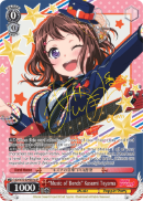 "BD/W73-E049SPa ""Music of Bonds"" Kasumi Toyama (Foil) - Bang Dream Vol.2 English Weiss Schwarz Trading Card Game"