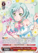 "BD/W73-E050SPb ""Interweaving Music"" Hina Hikawa (Foil) - Bang Dream Vol.2 English Weiss Schwarz Trading Card Game"