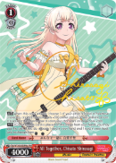 BD/W73-E055SPMa All Together, Chisato Shirasagi (Foil) - Bang Dream Vol.2 English Weiss Schwarz Trading Card Game