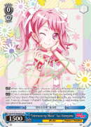 "BD/W73-E065SPb ""Interweaving Music"" Aya Maruyama (Foil) - Bang Dream Vol.2 English Weiss Schwarz Trading Card Game"