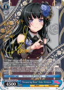 "BD/W73-E079SPa  ""Unwavering Music"" Rinko Shirokane (Foil) - Bang Dream Vol.2 English Weiss Schwarz Trading Card Game"
