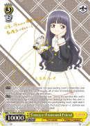 CCS/WX01-004SP Tomoyo: Enamored Friend (Foil)