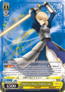 FS/S64-E001SP Righteous King of Knights, Saber (Foil) - Fate/Stay Night Heaven's Feel Vol.1 English Weiss Schwarz Trading Card Game
