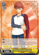 FS/S64-E003S Entrusted Arm of Archer, Shirou (Foil) - Fate/Stay Night Heaven's Feel Vol.1 English Weiss Schwarz Trading Card Game