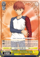 FS/S64-E003 Entrusted Arm of Archer, Shirou - Fate/Stay Night Heaven's Feel Vol.1 English Weiss Schwarz Trading Card Game