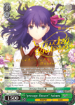 "FS/S64-E023SP ""presage flower"" Sakura (Foil) - Fate/Stay Night Heaven's Feel Vol.1 English Weiss Schwarz Trading Card Game"