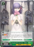 FS/S64-E024S Irreplaceable Existence, Sakura (Foil) - Fate/Stay Night Heaven's Feel Vol.1 English Weiss Schwarz Trading Card Game