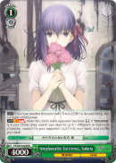 FS/S64-E024 Irreplaceable Existence, Sakura - Fate/Stay Night Heaven's Feel Vol.1 English Weiss Schwarz Trading Card Game