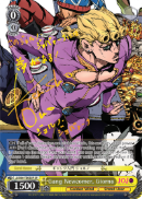 JJ/S66-TE03SP Gang Newcomer, Giorno (Foil) - JoJo's Bizarre Adventure: Golden Wind English Weiss Schwarz Trading Card Game