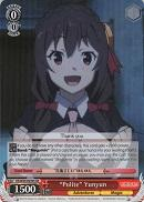 "KS/W49-E039S ""Polite"" Yunyun (Foil) - KONOSUBA -God's blessing on this wonderful world! Vol. 1 English Weiss Schwarz Trading Card Game"