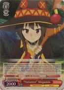 "KS/W49-E040S ""Nuisance"" Megumin (Foil) - KONOSUBA -God's blessing on this wonderful world! English Weiss Schwarz Trading Card Game"