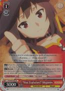 "KS/W49-E042S ""Nice Explosion!"" Megumin (Foil) - KONOSUBA -God's blessing on this wonderful world! Vol. 1 English Weiss Schwarz Trading Card Game"