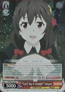 "KS/W49-E043R ""Can't Say It Straight"" Yunyun (Foil) - KONOSUBA -God's blessing on this wonderful world! Vol. 1 English Weiss Schwarz Trading Card Game"