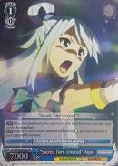 "KS/W49-E078S ""Sacred Turn Undead"" Aqua (Foil) - KONOSUBA -God's blessing on this wonderful world! Vol. 1 English Weiss Schwarz Trading Card Game"