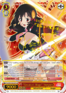 "KS/W76-E032SSP ""Greatest Mage"" Yunyun (Foil) - KONOSUBA -God's blessing on this wonderful world! Legend of Crimson English Weiss Schwarz Trading Card Game"