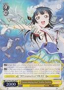 "LSS/W45-E001SP ""Aozora Jumping Heart"" Yoshiko Tsushima (Foil) - Love Live! Sunshine!! English Weiss Schwarz Trading Card Game"