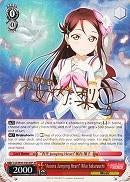 "LSS/W45-E034SP ""Aozora Jumping Heart"" Riko Sakurauchi (Foil) - Love Live! Sunshine!! English Weiss Schwarz Trading Card Game"